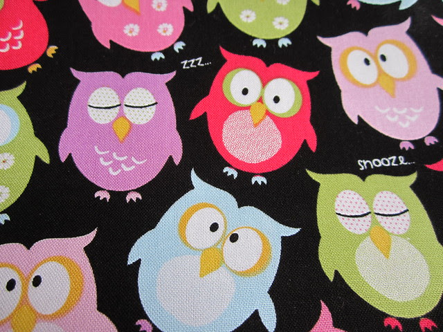 snooze owls bag 001
