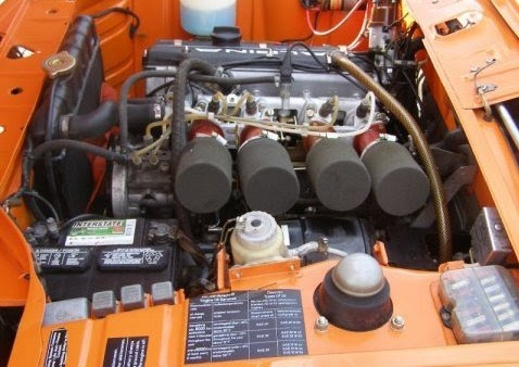 1974 BMW 2002 Touring Alpina A4 Clone Engine