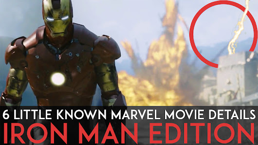 6 Little Known Marvel Movie Details You Might Have Missed : Iron Man Edition | Fact Republic