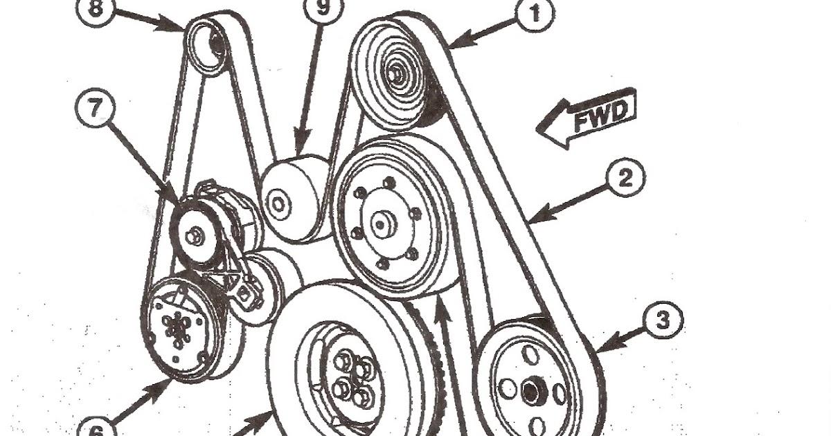 66 Duramax Serpentine Belt Diagram