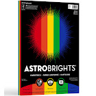 50-Sheet Astrobrights Cardstock - Primary Colors