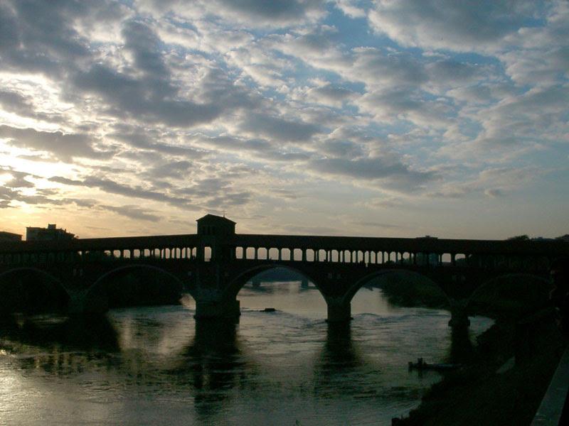 Brug in Pavia