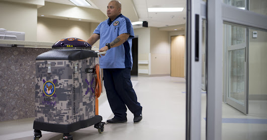 'Germ-Zapping Robots' to hunt down pathogens at Phoenix VA hospital