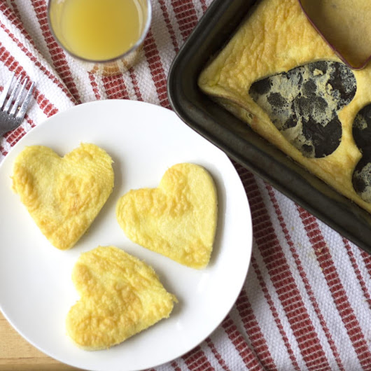 Heart-Shaped Eggs {and Egg Sandwich!} - Kelley and Cricket