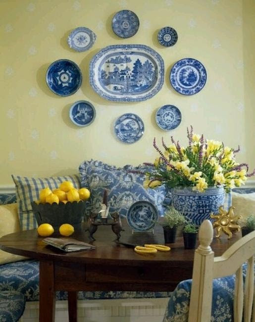 21 Modern Wall Decor Ideas Using Decorative Plates