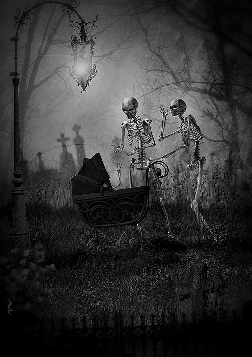 darkestdee:  THE GRAVEYARD The Dead are waking at night. They are getting ready. They are waiting to party. They can be seen as roaming shadows, but their beauty can be seen close-up. They are perfect specimens of humanity or inhumanity. THE DEAD GAME by Susanne Leist http://www.amazon.com/author/susanneleist