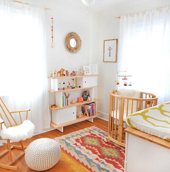 Midcentury Girl's Nursery | Nursery + Kids Room Decor ...