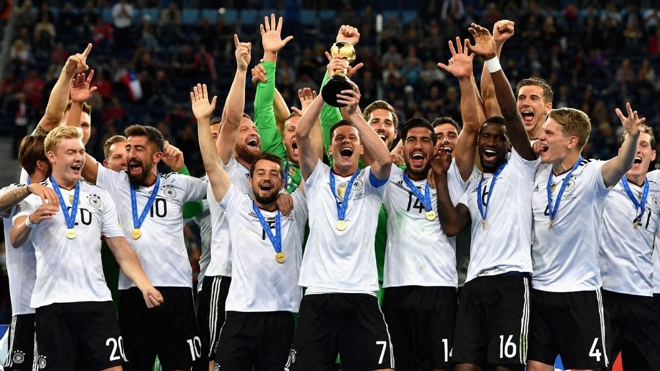Germany top FIFA World Ranking as Switzerland and Poland ...