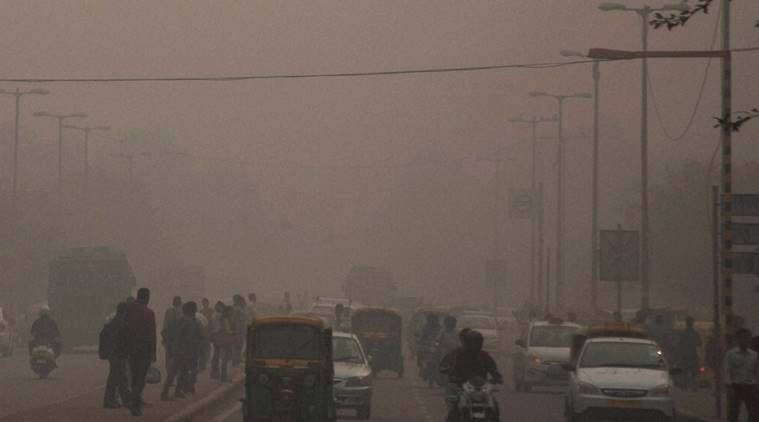 Image result for up pollution images lucknow