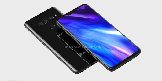 LG V40 ThinQ shown off in high-quality renders w/ 6.3-inch notched display [V...