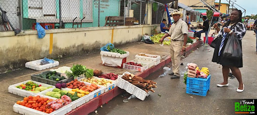Shopping Fruits and Vegetables, Belize City Market