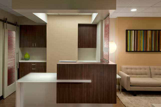 Dental Office Architecture and Interior Design - Bissell Dental