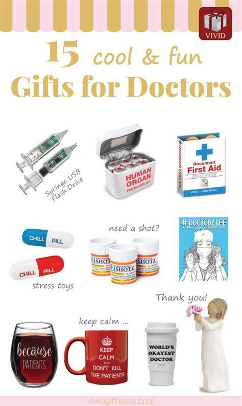 Best Doctor Appreciation Gifts (15 fun and creative ideas)