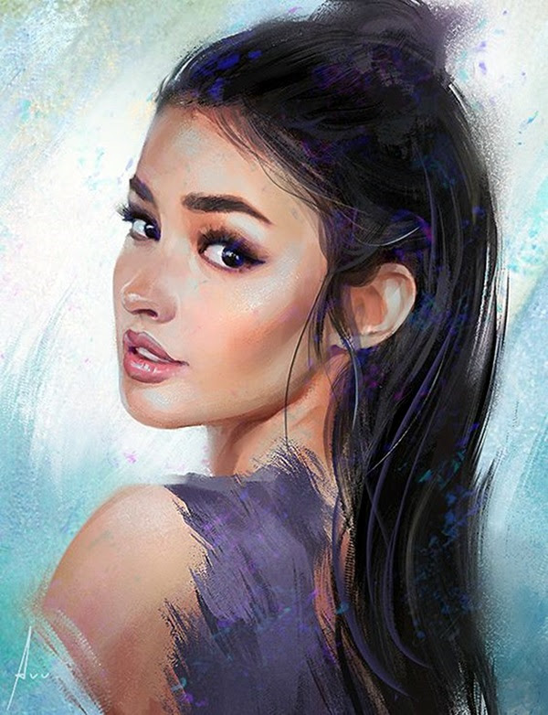 Spectacular Digital Painting Portraits (2)