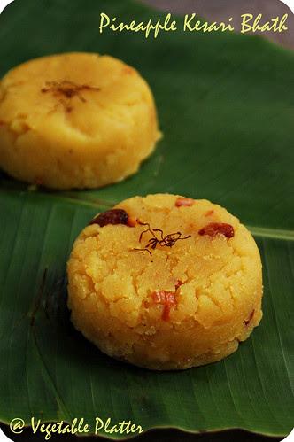 Pineapple Kesari Bhath