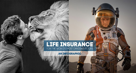 Life Insurance Costs For Dangerous Jobs (infographic)
