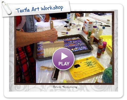 Click to play this Smilebox slideshow: Textle Art Workshop