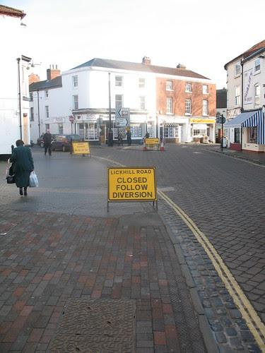 Lickhill Road Closed
