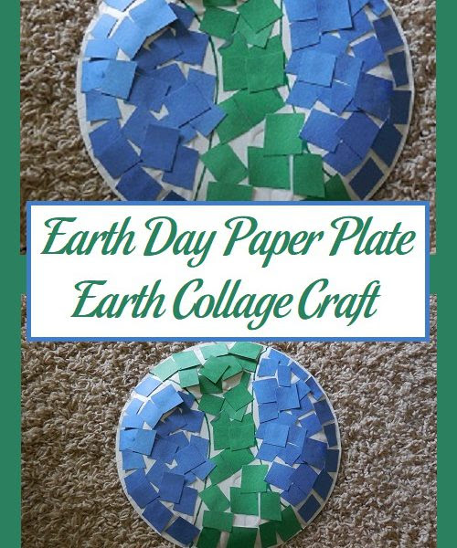 Earth Day Paper Plate Earth Collage Craft | Parenting Patch