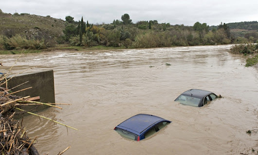 Five dead and thousands evacuated in severe southern France floods | World news | The Guardian