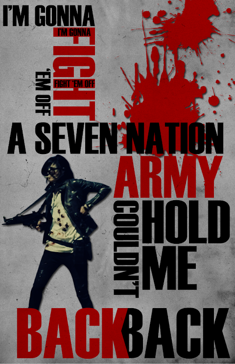 A Seven Nation Army Couldn T Hold Me Back Lyrics