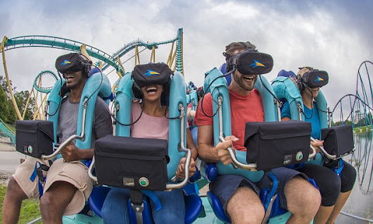 How rollercoasters have taken on a scary new twist