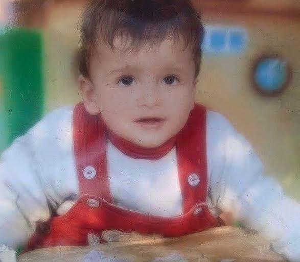 Ali Dawabsha, 18 mesi. Foto da Twitter