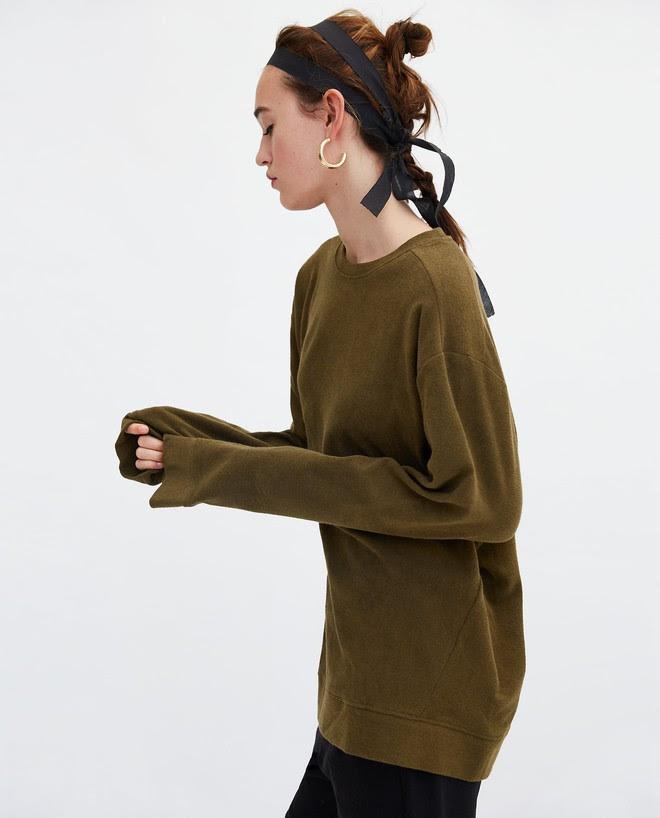 Zara sale 50% và đây là những mẫu áo len, áo nỉ mà các nàng phải vợt ngay kẻo hết size - Ảnh 19.