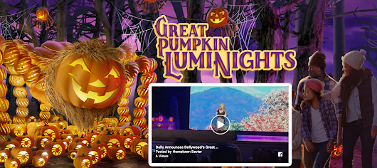 DollyWood's Great Pumpkin Luminights Provides Families With Memory-Making Opportunities! - Hometown Sevier