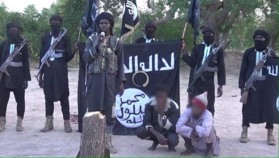 Photos: Boko Haram terrorists cuts off 2 men's hands on charges of theft