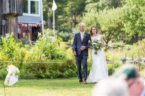 Travel Themed Chester, Vermont Backyard Wedding   NH