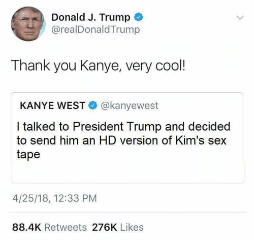 Thank You Kanye Very Cool Meme Template