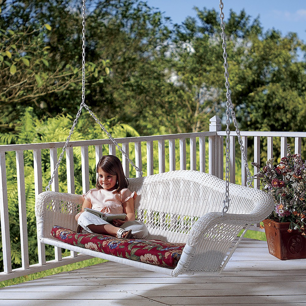 Wickerwooden Porch Swing Sets Martha Stewart Kmart