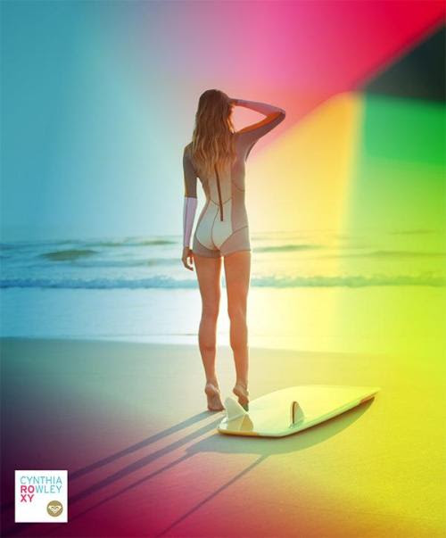 Cynthia Rowley for Roxy - Colourblock Wetsuit