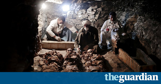 Ancient Egyptian treasures uncovered in tomb near Valley of the Kings — the guardian