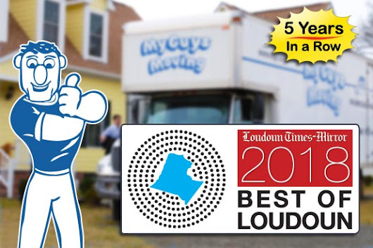 Best Moving Companies in Loudoun County 2018 | My Guys Moving