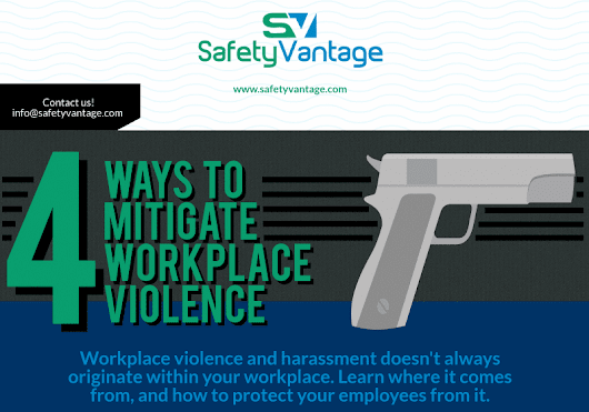 InfoGraphic: How to Mitigate Workplace Violence | SafetyVantage