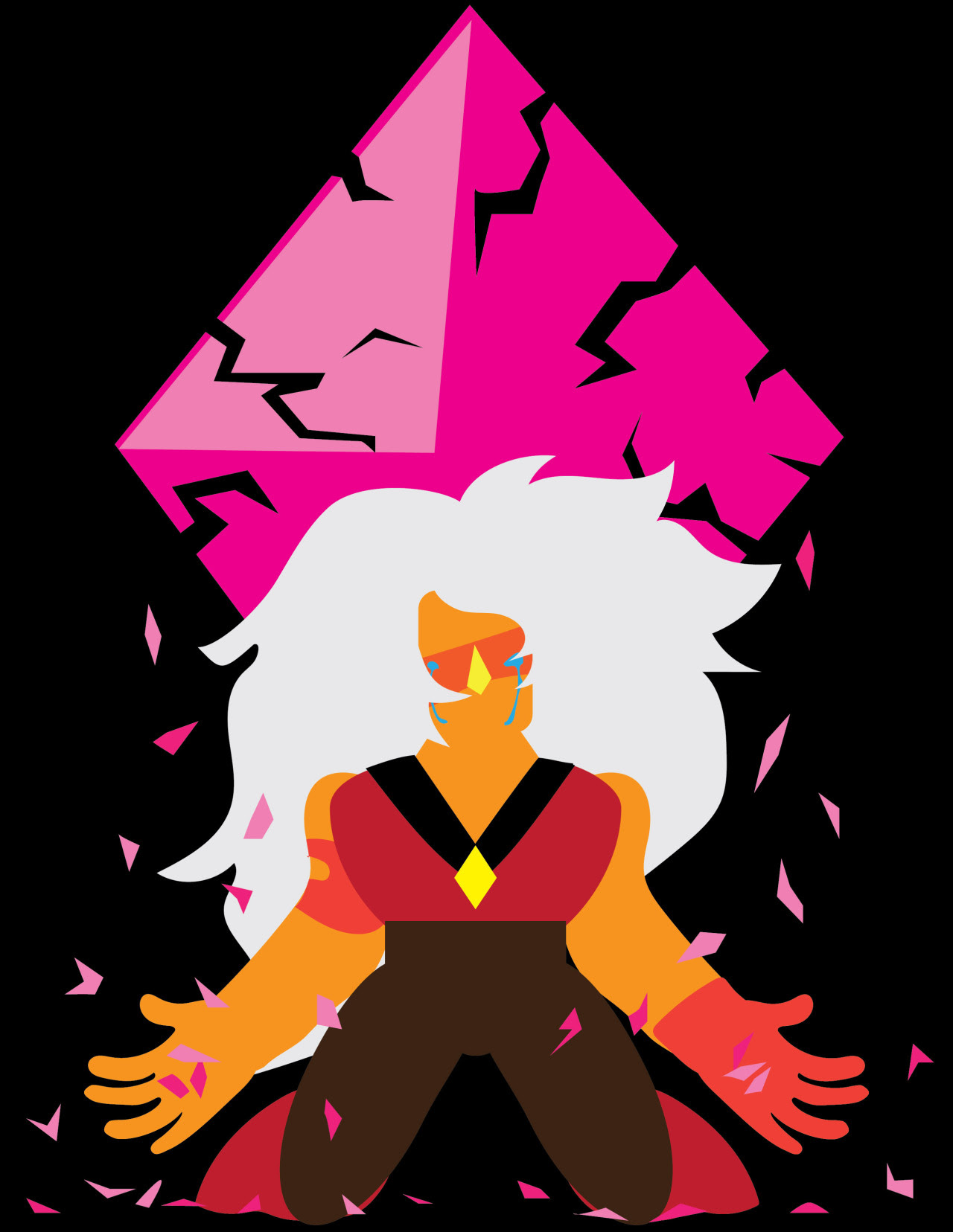 "During season 3-4 of Steven Universe I never really cared for Jasper. Last night episode ""Earthlings"" I saw Jasper in different way. She is the result of war and revenge. She was made to fight a..."
