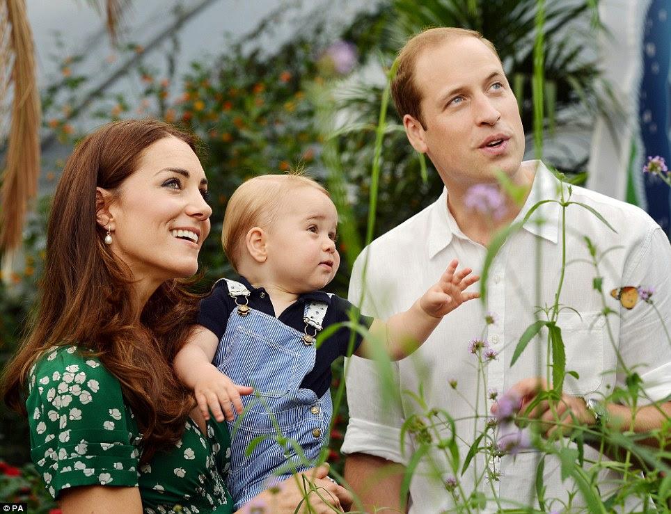 1 urodziny księcia Georga / 2 dzień księcia Karola i Camilii w Szkocji.