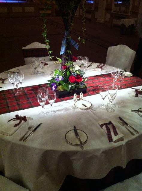 A proper Scottish table setting   The Gleneagles Hotel