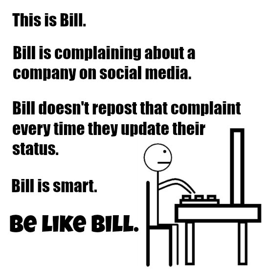 Be Like Bill meme.