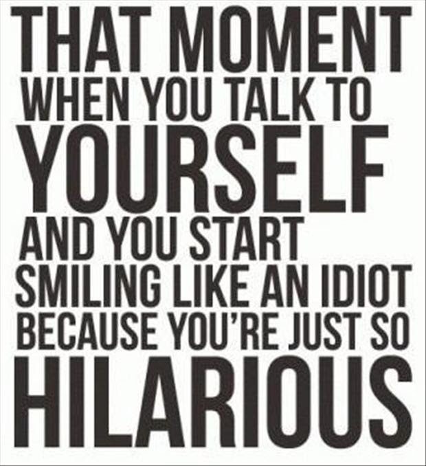 Funny Quotes Talking To Yourself Dump A Day