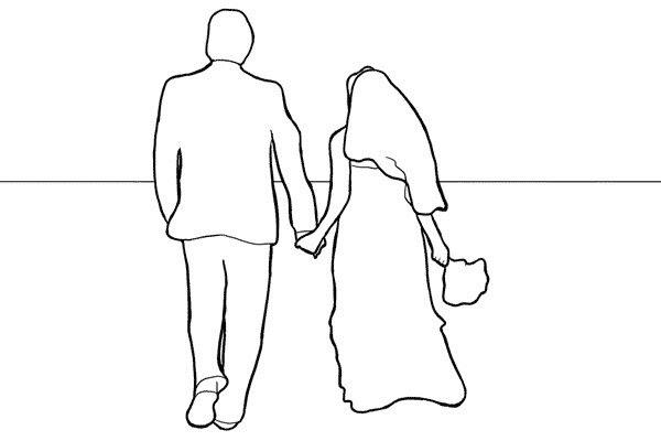 Позирование: позы для свадебной фотографии 14