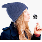 Beanie Hat for Men and Women by Zodaca Fashion Design Unisex Insulated Warm Winter Stretchy Knit - Blue