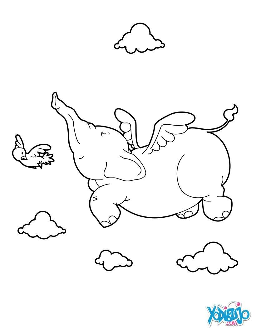 Elefante Dibujos Para Colorear Dibujo Para Niños Juegos