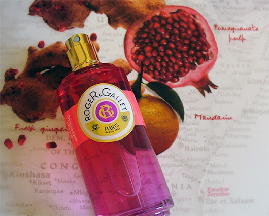 Roger & Gallet Gingembre Rouge - Let's talk beauty