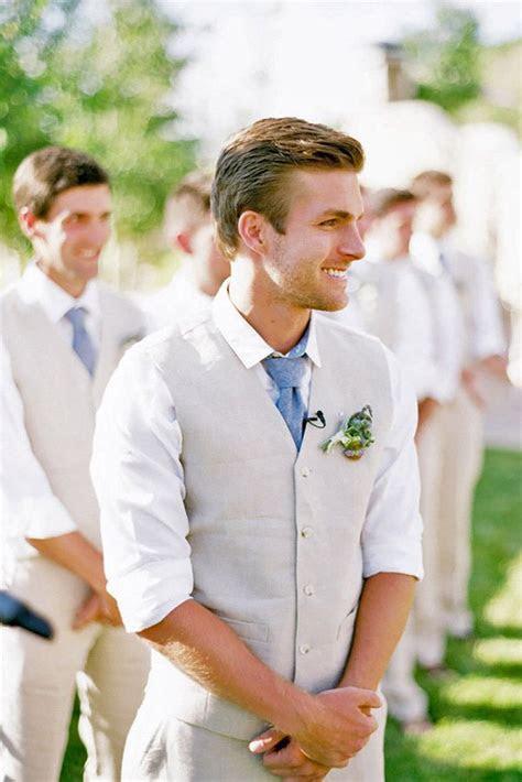mens wedding attire  beach celebration wedding