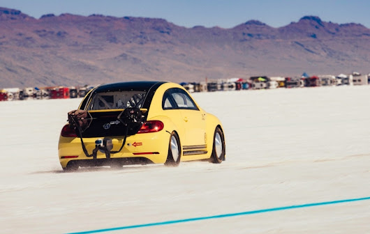 World's fastest VW Beetle sets speed record