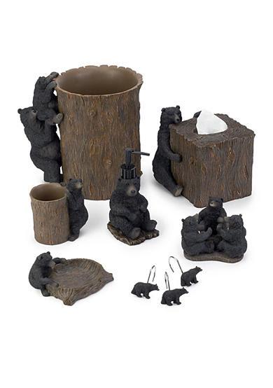 Avanti Black Bear Lodge Bath Accessories | Belk