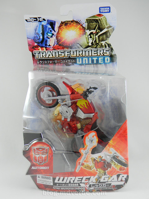 Transformers Wreck-Gar United Deluxe - caja